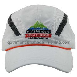 Cappellino Da Corsa Reflective Stripe Peach-Skin Microfibre Embroidery Sport (Docr0126)