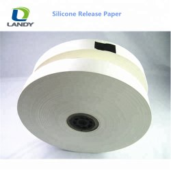 Liberación de papel un solo lado de silicona recubierta de PE