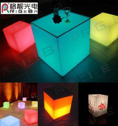 Bar Club용 방수 색상 LED 가구 LED 큐브