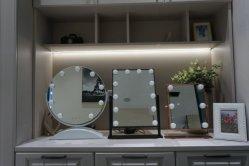 12 lâmpadas estilo de Hollywood LED do espelho de retrovisor interior