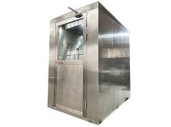 غرفة GMP نظيفة من الفولاذ المقاوم للصدأ دش هواء مصنع الطعام