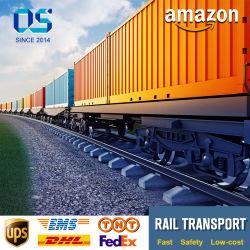 Transfert de la logistique du fret ferroviaire Amazon FBA DHL Air Sea livraison Express de l'Agent d'expédition britannique