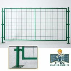 Enduit de PVC de gros de Wire Mesh Jardin clôture avec le meilleur prix