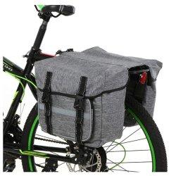 Bolsa de bicicleta Bicicleta Panniers bolsa impermeable de gran capacidad de la bolsa del asiento trasero de bicicletas bicicleta Bicicleta MTB de la bolsa de carga de la bolsa de almacenamiento