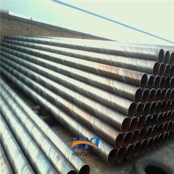 Les tuyaux soudés SSAW X42 de l'API de grande taille des tubes en acier