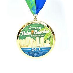 3D Antique gold plating Medal of Honor com Multipal Recortes - pescoço incluída