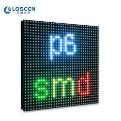 P6 실외 LED 디스플레이 화면 P6 SMD 실외 LED 디스플레이 모듈 풀 컬러 LED Moduel P6