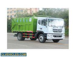 4X2 가나를 위한 큰 단미 쓰레기 트럭 트럭 10 12cbm 특별한 차량