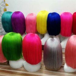 Kbeth cheveux humains Wigs 613 dentelle Front brésilien 10A 100% Bob droit vierge Blonde Remy court en dentelle Full HD colorée Cochon de Chine frontal pour femmes noires de gros