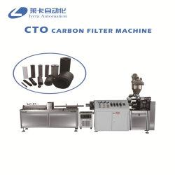 Bloc de charbon actif CTO Cartouche de filtre automatique Making Machine / nouveau CTO bloc de charbon actif de la machine la cartouche de filtre