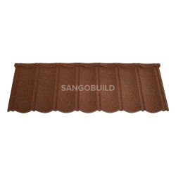 الهند لون حجر طلاء الغالفومي مصنع ألواح سطح الشمس Whosale سعر السقف الزخرفي مواد لتسقف صناعية