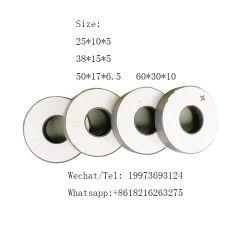 Ceramica piezoelettrica rettangolare dell'anello personalizzabile del disco