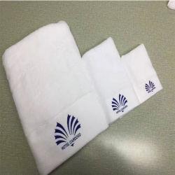 Настраиваемые вышивкой хлопок банными полотенцами для отеля (DPF201624)