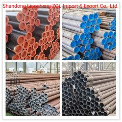 Tubes de canalisation en acier sans soudure API 5L LSIP1/LSIP2 (SMLS tube pour le pipeline de pétrole et gaz) X42, X46, X52, X56 X60, X65
