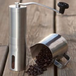 カスタマイズステンレススチールプロ用ノブプレミアムセラミックバーハンドミル コーヒーペッパーグラインダメカニズム