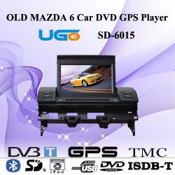 ユーゴ古いマツダ6車DVD GPSプレーヤーSD-6015
