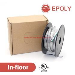 120V 230V 240V Câble desserré dans le cadre du système de câble de chauffage au sol par puissance constante, ce UL, CSA, approuvé VDE