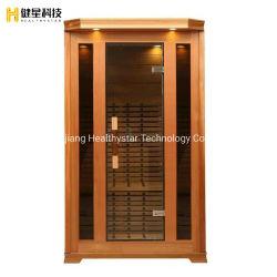 Companhia de boa qualidade Cedro Vermelho Três Pessoa Piscina Portable Sauna House