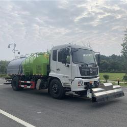 [دونغفنغ] تصميم جديدة 10 أطنان عال ضغطة ماء شاحنة نظيفة