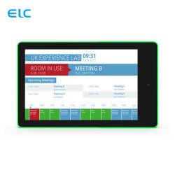 Professional Manufacturer Manufacturer Wall Mount Capacitive Touch 10.1 بوصة المحيط بمؤشر LED جهاز Android اللوحي المزود بتقنية NFC الاختياري المزود بتقنية PoE مع شريط الإضاءة