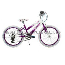 Красивые девушки на горных велосипедах с скорости коробки передач, V-тормоза и алюминиевый обод TT1707