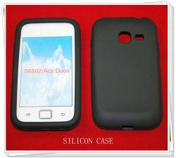 Téléphone cellulaire Sillicon cas pour Samsung S6802/Galaxy Duos ace
