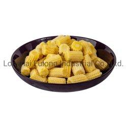 Jilote IQF dulce bebé congelado IQF Maíz dulce bebé de corte de maíz
