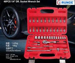 Kit di attrezzi manuali per manutenzione per auto Premium 53PCS Riparazione automatica Set attrezzi/chiave