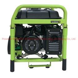 مجموعة مولدات وقود Duel جديدة قوية بقدرة 4.5 كيلو واط مزودة بمقبض و العجلات بالجازولين وLPG/ محرك الغاز الطبيعي (PG6500GL/GN)