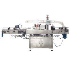 Doppelte seitliche Etikettiermaschine flache quadratische runde Flasche/Aufkleber-beschriftenmaschinerie
