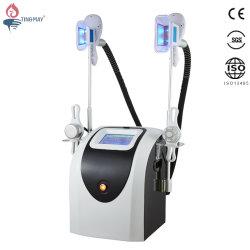 Doppelter Cryolipolysis Griff mit Hohlraumbildung HF-Gewicht-Verlust-Maschine