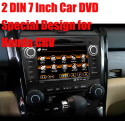 2 Din 7 Inch Car DVD Design especial para a Honda Crv