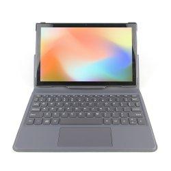 جهاز لوحي حجم 10 بوصات 2 في 1 بدقة 1280 × 800 بتقنية IPS Quad معالج Core T310 AC WiFi BT 5.0 3GB +32 جيجابايت Android 10 كمبيوتر لوحي