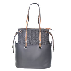 Echtes Ledertote-Dame Handbag Noble u. eleganter Abend-Beutel