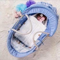 발 묶는 신생 아기 포장은 담요를 수신하는 총괄적인 아기 슬리핑백을 싼다