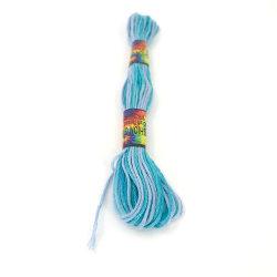 Fils de coton peigné de bricolage le crochet du fil de coton de la Chine du fil à coudre