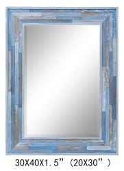 La Chine a fait Planked Handpainted bois miroir côtières (élément#611701102)