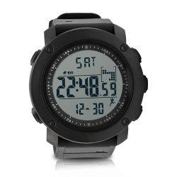 LCD van de Pedometer van mensen maken 3D Multifunctionele Elektronische Digitale Horloges van de Vertoning Polshorloge waterdicht