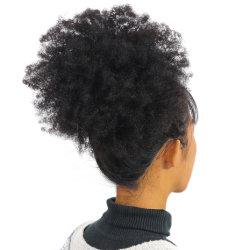 Commerce de gros cheveux humains perruque afro Kinky13*4 perruque Lace Front pour les femmes noires