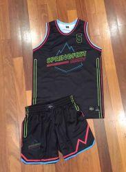 Design livre jovens filhos ou senhoras uniforme de basquete com atendimento personalizado seca rápido desgaste de basquete