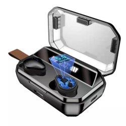 X12 TWS 5.0 écouteurs stéréo sans fil Bluetooth pour casque de sport avec 8000mAh Banque d'alimentation coffret de charge