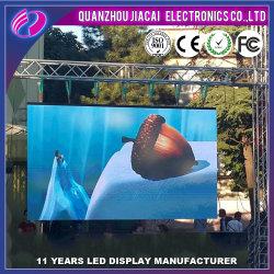 P6/P8/P10 полноцветный светодиодный дисплей для установки вне помещений для рекламы