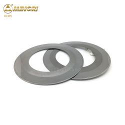 Circular de carburo de tungsteno el Cartón Ondulado cuchilla cortadora cortadora longitudinal