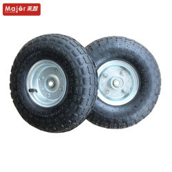 10 pulgadas de las ruedas de caucho neumático rueda del coche de juguete para niños inflables para niños Go Kart 4.10/3.50-4
