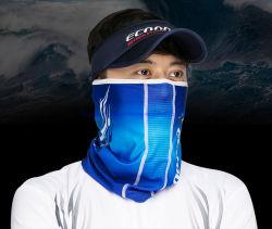 Sunprotectの通気性のQuick-Dry氷絹釣マスク