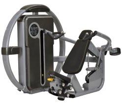 La strumentazione di ginnastica della fabbrica mette in mostra la macchina di concentrazione di forma fisica