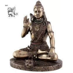Fournisseur de la fonderie de plein air dieu hindou Shiva statues en bronze Bsg-81