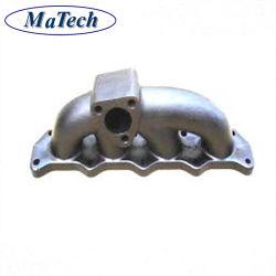 moldeo de precisión de acero inoxidable del colector de escape Turbo