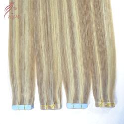 Оптовая торговля Российской Реми расширений ленту в волосы расширений Virgin прав ленты для волос