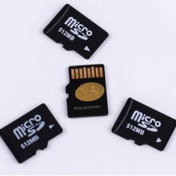La capacité réelle de la carte Micro SD & mini carte SD et la carte de TF4 de la classe de 256 Mo